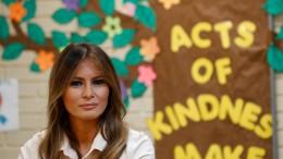 Melania Trump besucht Kinder-Aufnahmezentrum
