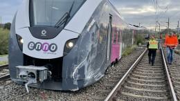 Zug in Wolfsburg entgleist – auch Fernverkehr betroffen