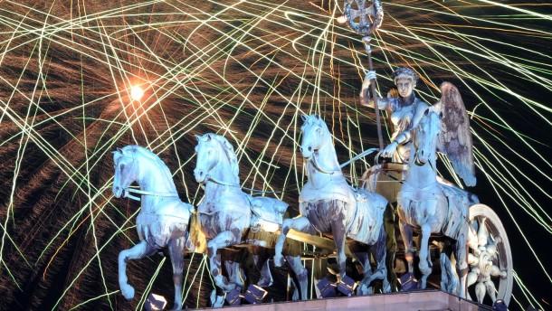 Jahreswechsel 2013 - Brandenburger Tor