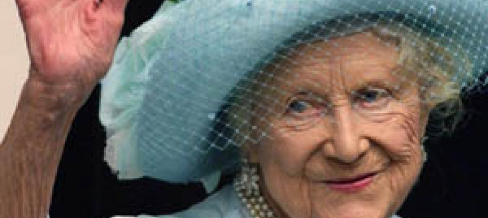 Monarchie Die Britische Königinmutter Ist Im Alter Von 101