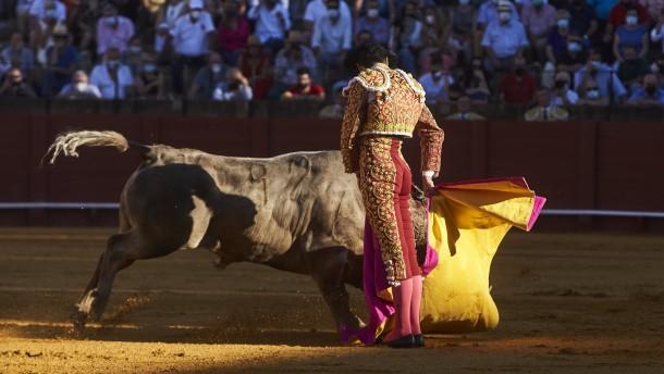 Stierkämpfe ausgenommen