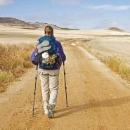 Mit der Jakobsmuschel auf dem Pilgerweg: Für viele Wanderer ist auch das Sammeln der Stempel ein wichtiger Aspekt ihrer Reise.