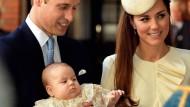 Noch hat Prinz George wenig Ähnlichkeit mit einem Nasenbeutler