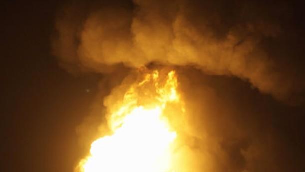 Brand gelöscht - Schadstoff-Grenzwerte überschritten