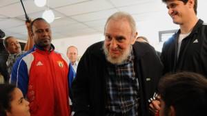Fidel Castro zeigt sich in der Öffentlichkeit