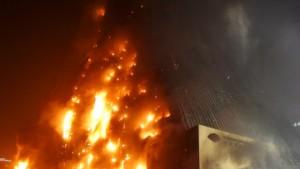 Illegales Feuerwerk löste Hotelbrand aus