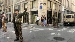 Verdächtiger nach Explosion von Lyon festgenommen