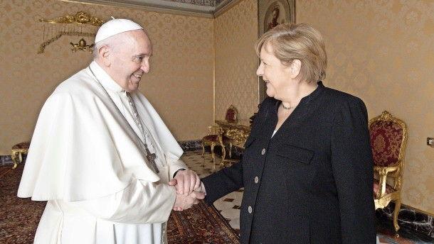 Merkels Nähe zu Franziskus