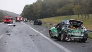 Zwei Tote nach Unfall auf Standstreifen der A3