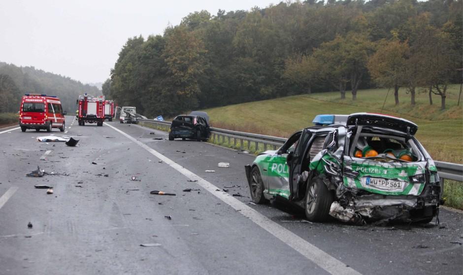 Autobahn Unfälle