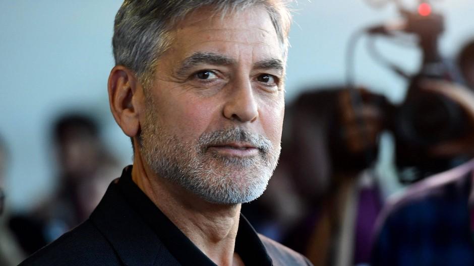 Hat ein Haus am Comer See: Schauspieler George Clooney