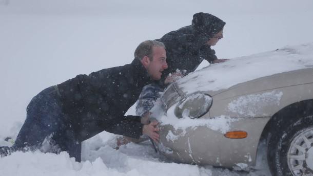 Tote nach Wintereinbruch in Buffalo