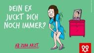 Plakate wie dieses sollen den Fokus stärker auf andere sexuell übertragbare Krankheiten lenken.