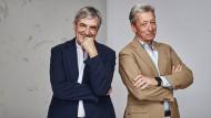 """Jean Claude Ellena (links) arbeitete für """"Rose&Cuir"""" mit Frédéric Malle zusammen."""