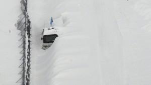Mehrere Tote bei Schneesturm