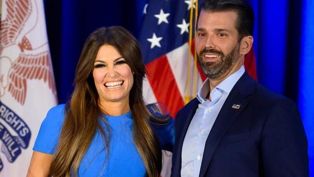Freundin des Trump-Sohns positiv auf Corona getestet