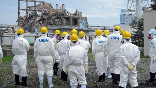 Starker Taifun bedroht Fukushima