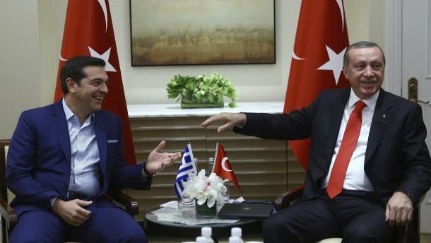 Treffen mit Tsipras: Erdogans Tor zum Westen