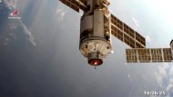 """Kosmonauten betreten nach Andock-Panne neues ISS-Labor """"Nauka"""""""