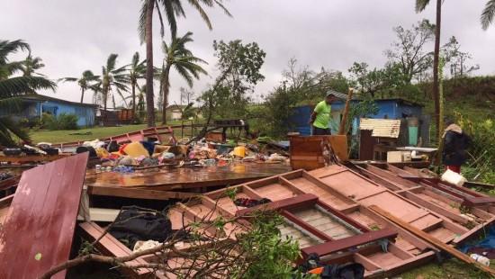 "Zyklon ""Winston"" verwüstet Fidschi-Inseln"