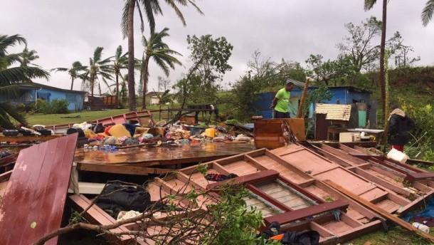 Fünf Tote auf Fidschi-Inseln