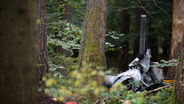 Drei Tote bei Hubschrauberabsturz