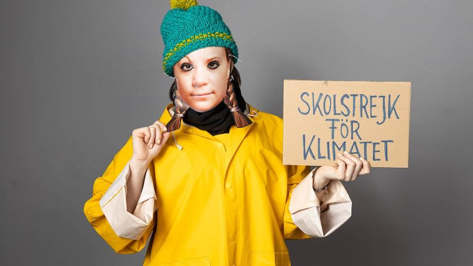 Darf man das? Verkleidet als  Greta Thunberg auf den Kölner Karneval gehen?