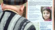 Bei der Suche nach dem Mörder der acht Jahre alten Kardelen ist die Polizei stark auf Hinweise aus der Bevölkerung angewiesen