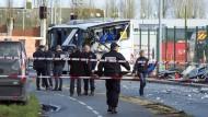 Sechs Jugendliche bei Busunglück in Frankreich getötet