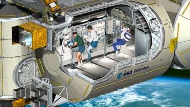 Europas Raumlabor Columbus ist fertig