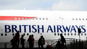Massive Verspätungen an Londons Flughäfen
