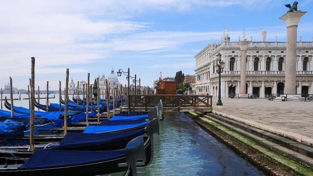 Venedig verbannt die Kreuzfahrschiffe – ein Stückchen