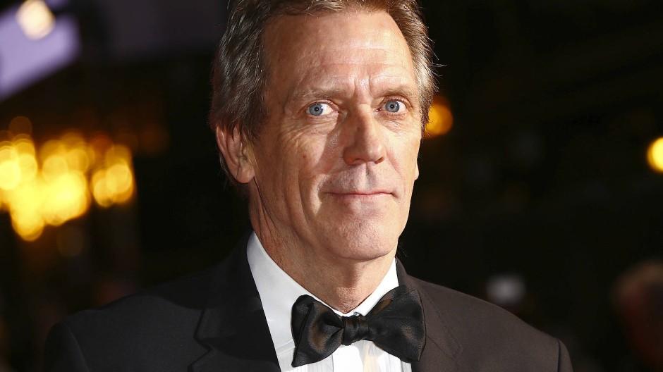 """Hat den Lockdown in Großbritannien verbracht und so manches dabei gelernt: Hugh Laurie (hier im Oktober 2019 bei der Londoner Premiere von """"David Copperfield"""")"""