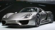 Nun auch als Neuheit in Serie: Der Porsche 918 Spyder.