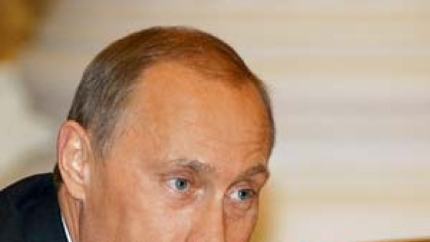Abschiedsparty mit Putin