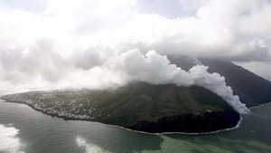 Der Vulkan ist erwacht