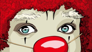 Die rote Nase ist ein Stigma