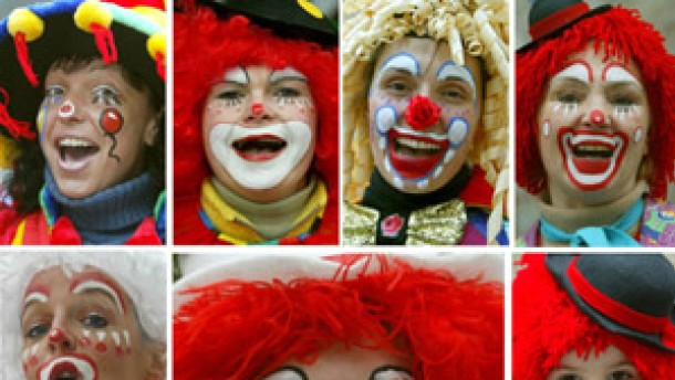Karneval Das Ubermachtige Klischee Vom Clown Gesellschaft Faz