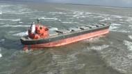 Havarie auf der Nordsee