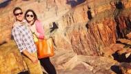 Wollte sie in ihrem Leben unbedingt noch machen: Brittany Maynard mit ihrem Mann im Grand Canyon National Park