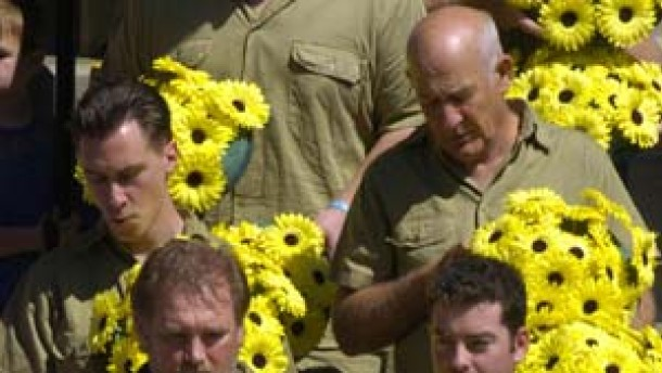 Australier nehmen Abschied von Steve Irwin