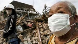 Yogyakarta - in die Dunkelheit zurückgefallen