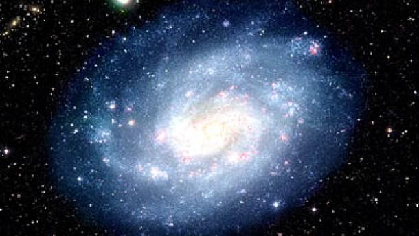 Star-Schnitt einer Galaxie