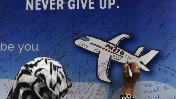 Suche nach MH370 bleibt vielleicht erfolglos