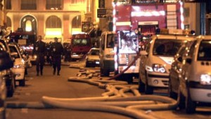 Israelische Botschaft in Paris zerstört
