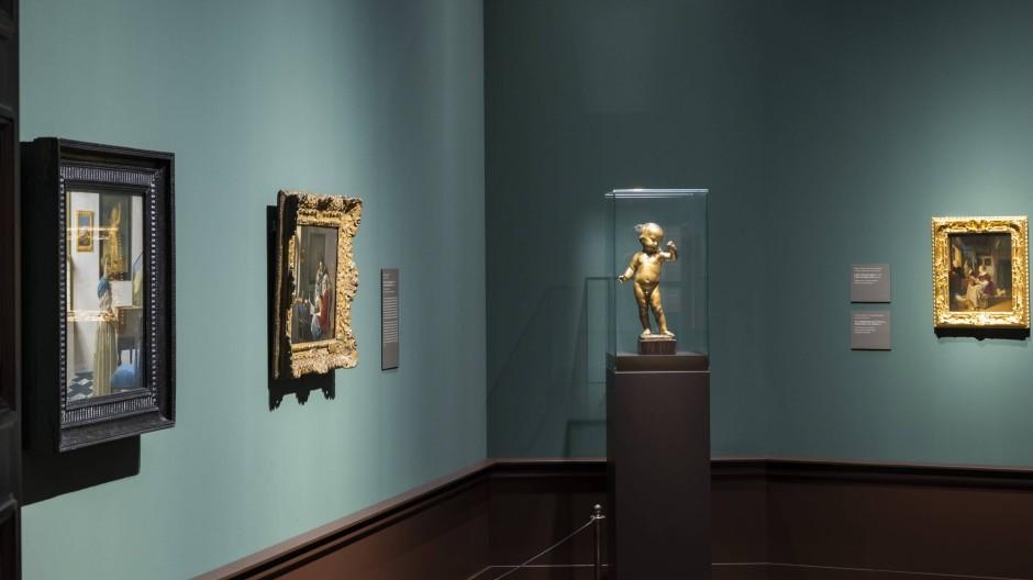 Vermeers Bilder jedenfalls müssen wohl keine Umbenennung fürchten: Blick in die Gemäldegalerie Alte Meister in Dresden.