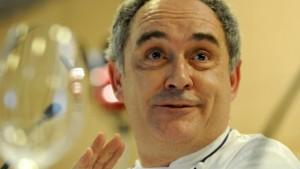 El Bulli-Chefkoch Ferran Adrià macht kreative Pause