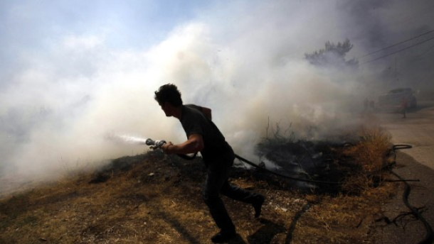 Brief Nach Griechenland Adressieren : Griechenland nach waldbränden scharfe kritik an regierung
