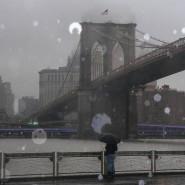 Aus dem Regen könnte noch vor Montag Eis werden, wenn der Wintersturm New York erreicht.