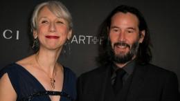 Künstlerin Alexandra Grant mit Hollywood-Schauspieler gesehen